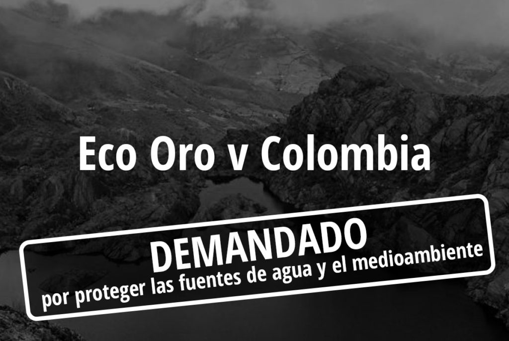 eco oro v colombia
